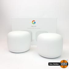 Google Google Nest Wifi Router + Wifi Point - In Nette Staat
