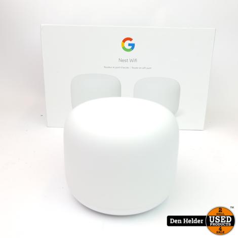 Google Nest Wifi Router + Wifi Point - In Nette Staat