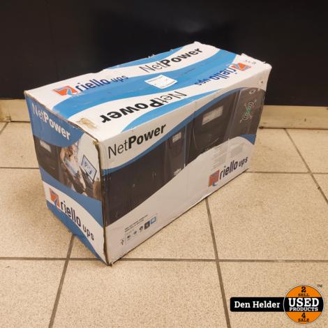NetPower NPW 1500 UPS 1500 VA 6 AC-uitgang(en) - NIEUW