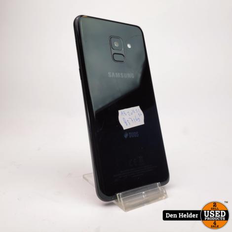 Samsung Galaxy A8 2018 32GB Zwart - In Goede Staat