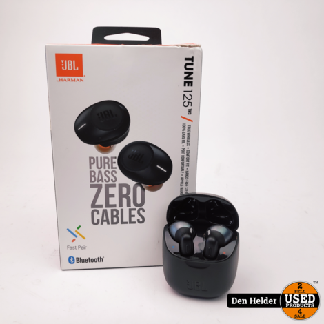 JBL Tune 220TWS Bluetooth Airpods - In Prima Staat