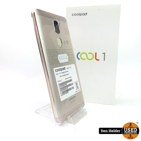 Coolpad Cool 1 32GB Gold - Nieuw