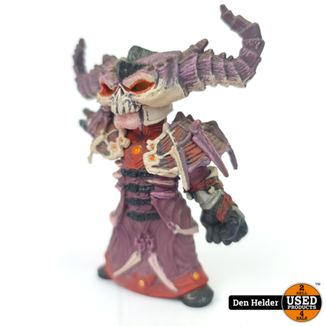 World of Warcraft Series 2 Gnome Warlock Valdremar excl. Voidwalker - In Nette Staat