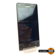 Huawei Huawei Ascend G6 8 GB Zwart in Goede Staat