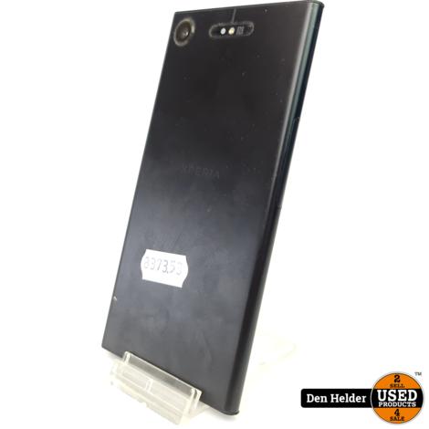 Sony Xperia XZ1 64GB Zwart in Goede Staat