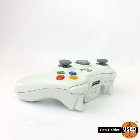 Microsoft Xbox 360 Controller Wit - In Nette Staat