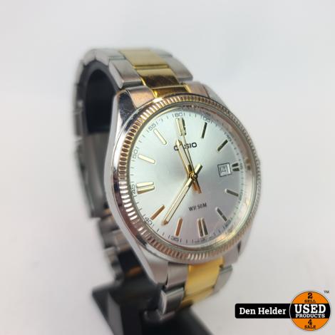 Casio MTP-1302P Stalen Band Heren Horloge - In Goede Staat