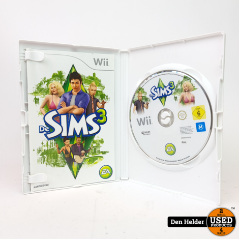 De Sims 3 Nintendo Wii Game - In Nette Staat