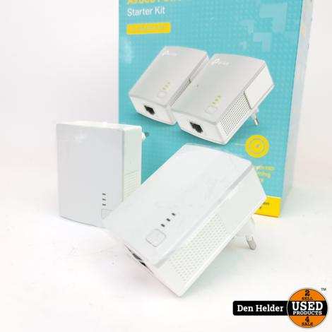 TP Link AV600 Powerline Starter Kit - Nieuw uit Doos