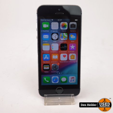 Apple iPhone SE 16GB Space Gray - In Prima Staat