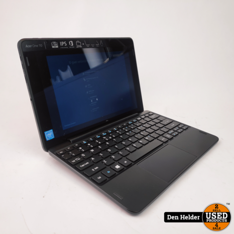 Acer Aspire One 10 2 in 1 Laptop 2GB 64GB HDD