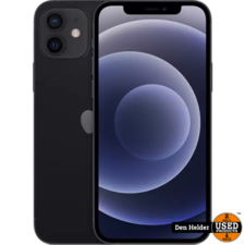 Apple Apple iPhone 12 Mini 128GB Black - 1 Jaar Garantie