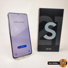 Samsung Samsung Galaxy S21 128GB 5G Wit - In Nette Staat