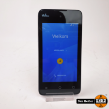 Wiko Sunny 8GB Wit Android 6 - In Prima Staat