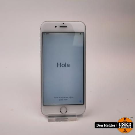 Apple iPhone 6 16GB Zilver Accu 100 - In Prima Staat