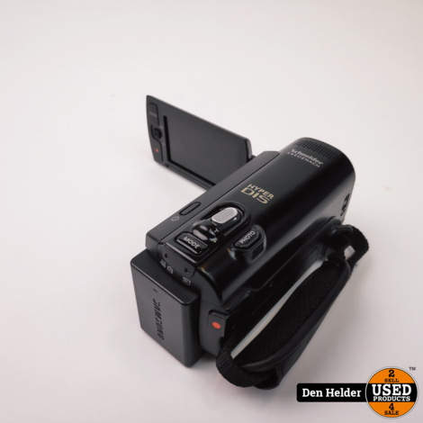 Samsung SMX-F40BN Digitale Camera 65x Zoom