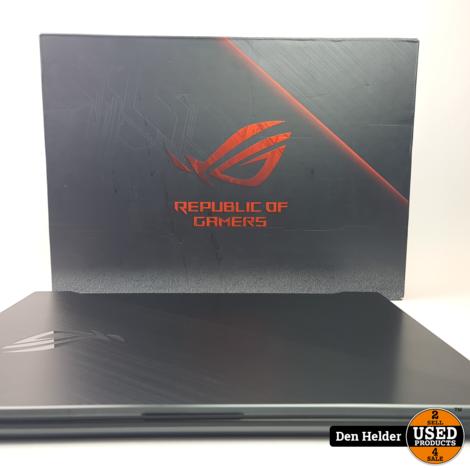 Asus ROG Strix Scar II 17 Inch 144 Hz Gaming Laptop - Zo Goed Als Nieuw