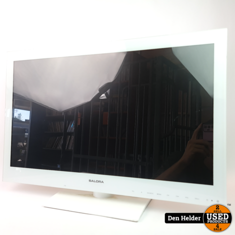 Salora 24LED3315TDW Full HD TV Wit Excl. Afstandsbediening - In Nette Staat