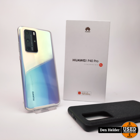 Huawei P40 Pro 256GB Wit - In Prima Staat