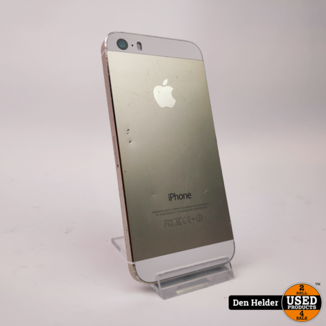 Apple iPhone 5S 16GB Zilver - In Prima Staat