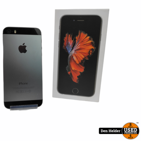 Apple iPhone 5s 16GB Space Gray - In Prima Staat
