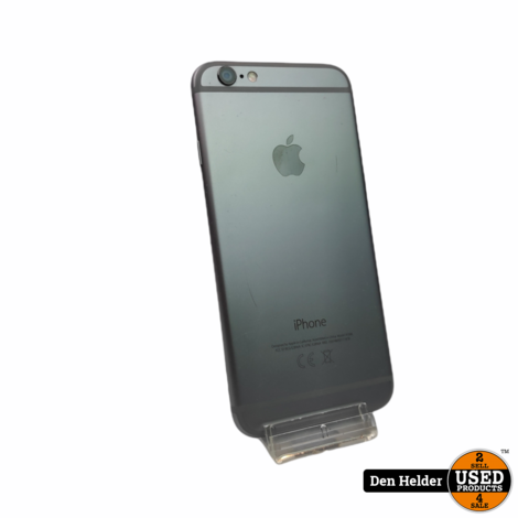 Apple iPhone 6s 16GB Space Gray - Barst op Display