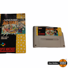 Super Mario All-Stars - Super Nintendo SNES - Incl Boekje
