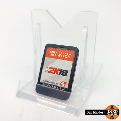 2K18 Nintendo Switch Game excl. Case - In Nette Staat