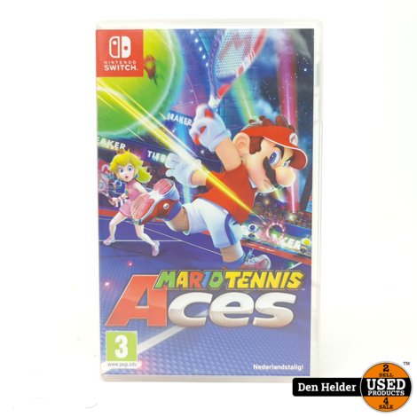 Mario Tennis Aces Nintendo Switch Game - In Nette Staat