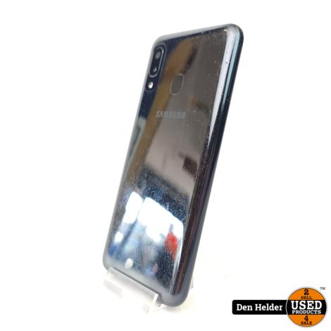 Samsung Galaxy A20e 32GB Zwart - In Goede Staat