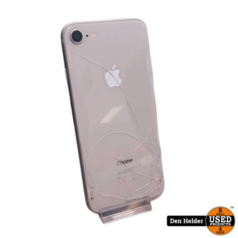 Apple iPhone 8 64GB Wit - Barst op de Achterkant