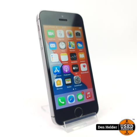 Apple iPhone SE 16GB Space Gray - In Nette Staat