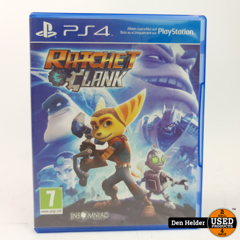 Ratchet & Clank ps4 Game - In Nette Staat