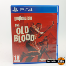 Wolfenstein The Old Blood PS4 Game - In Nette Staat