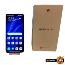Huawei Huawei P30 128GB Zwart - In Prima Staat