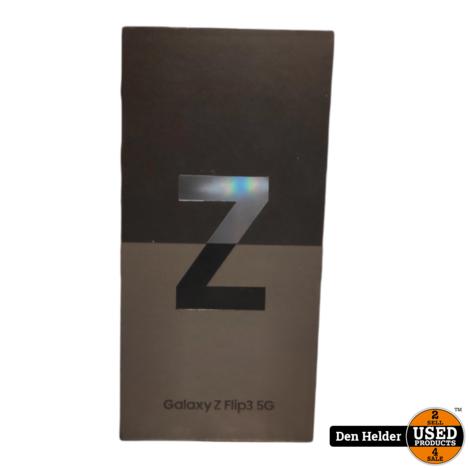 Samsung Galaxy Z Flip3 5G 128GB Zwart - Nieuw in Doos