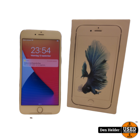 Apple iPhone 6s Plus 64GB Accu 100 - In Prima Staat