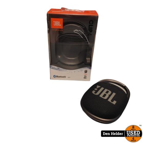 JBL Clip 4 Bluetooth Speaker - In Prima Staat