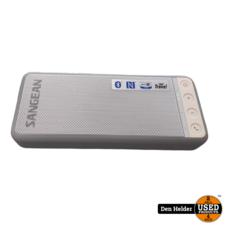 Sangean Blutab BTS-101 Bluetooth Speaker Wit Grijs - In Nette Staat