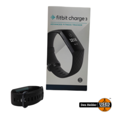 Fitbit Charge 3 Fitness Watch - In Nette Staat