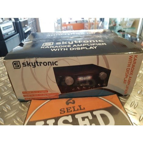 SkyTronic Karaokeversterker met display NIEUW in doos
