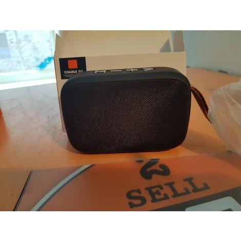 Charge G2 portbable bluetooth speaker Zwart NIEUW