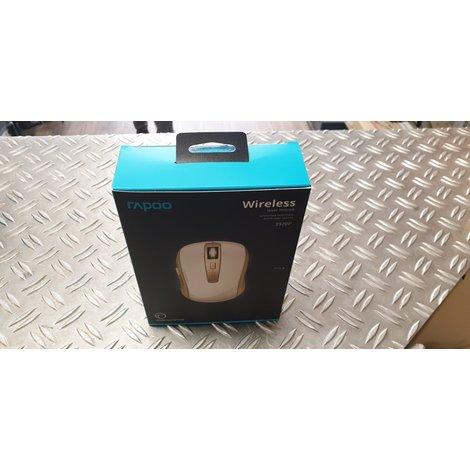 Rapoo 3920P Gold draadloze laser muis NIEUW in doos