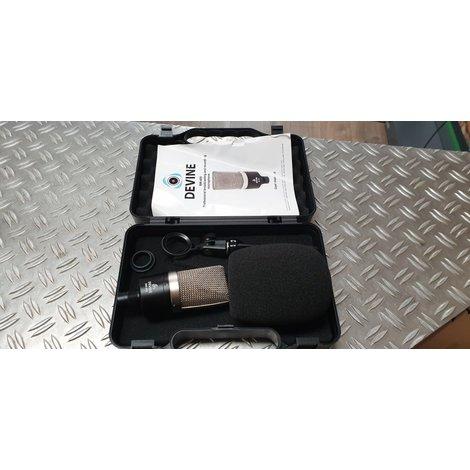 Devine BM-400 condensator microfoon ongebruikt in koffer