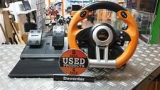 Sony Speedlink Drift O.Z. Racing Wheel (Zwart / Oranje)Playstation 3