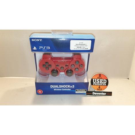 Sony Dualshock 3  Wireless Controller Rood NIEUW in doos