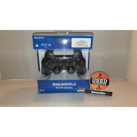 Sony Dualshock 3  Wireless Controller Zwart NIEUW in doos