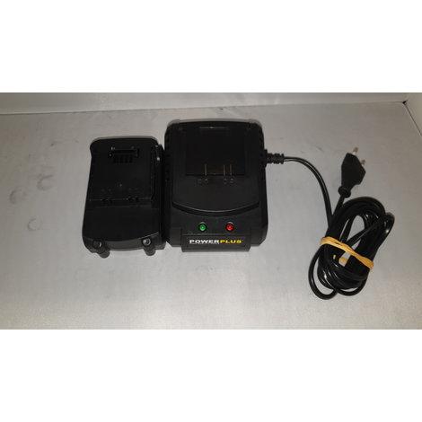 PowerPlus POWX0047LI met 2 accu's en lader in koffer