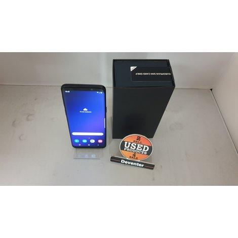 Samsung Galaxy S9 Zwart compleet in doos