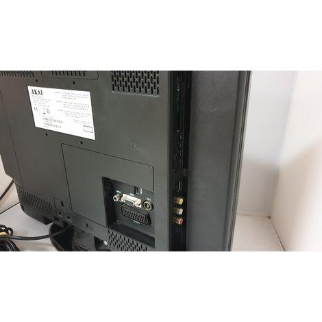 Akai 19 Inch LCD tv met ingebouwde DVD speler en afstandsbediening
